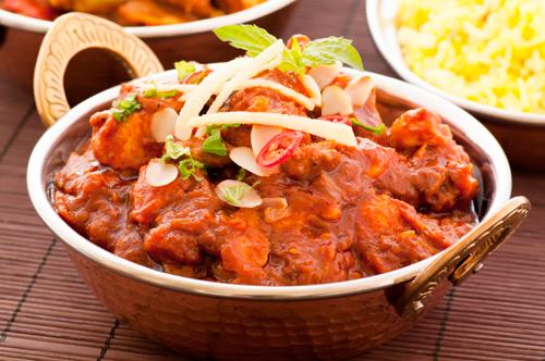 Fuity Chicken Curry